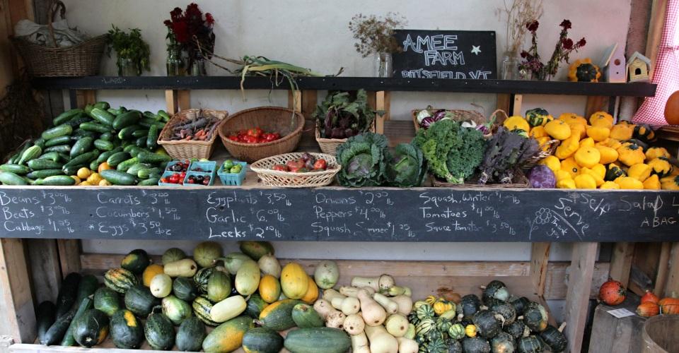 Organic Vermont Produce