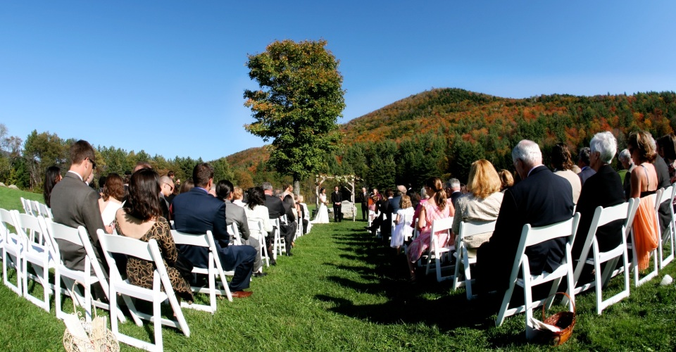 Outdoor Vermont Wedding