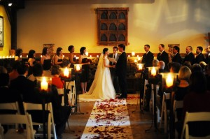 Indoor Country Wedding