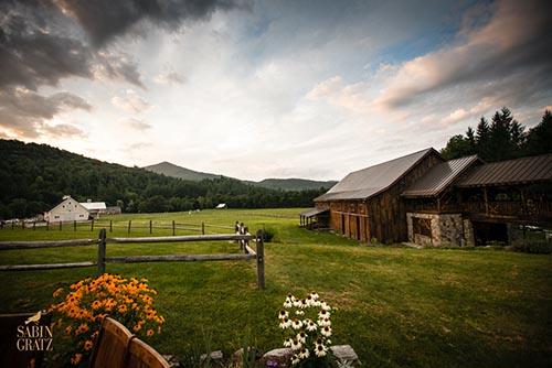 Wedding barns & grounds at Riverside Farms