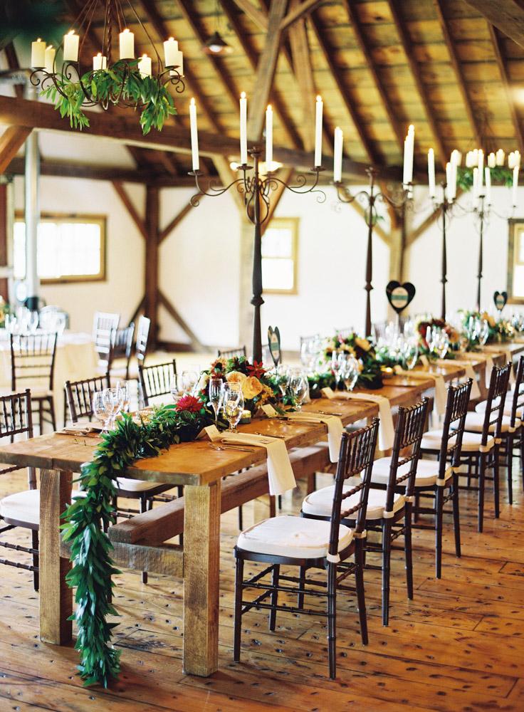 Riverside farm wedding