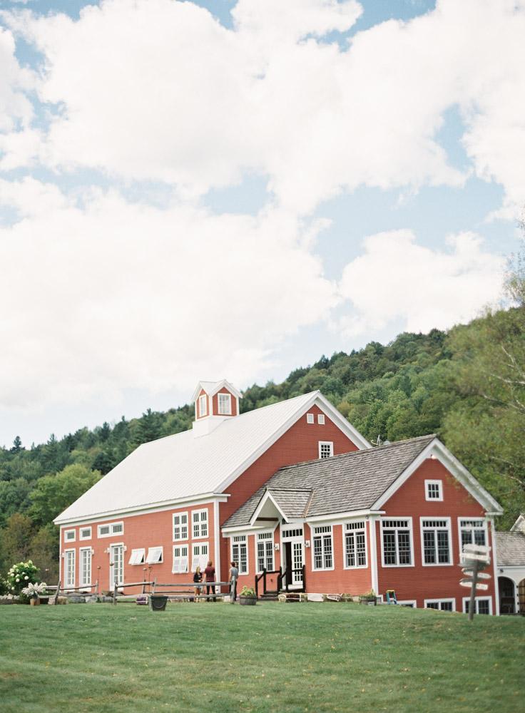 Riverside Farm vermont - Red Wedding Barn