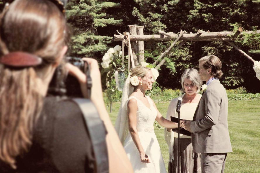 We can't wait to see the official wedding photos!