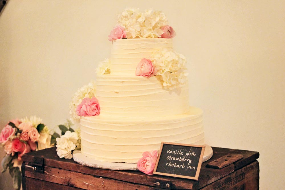 Vermont Wedding Cake by Cuisine Lucette