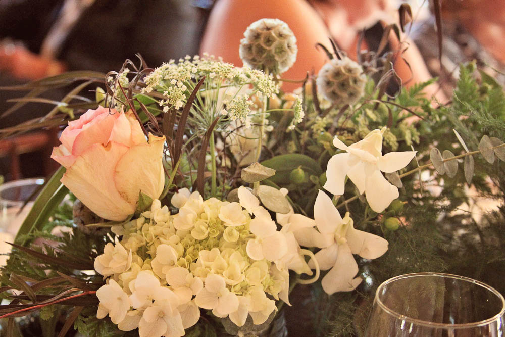 Real Vermont Wedding Details - Flowers at Amee Farm
