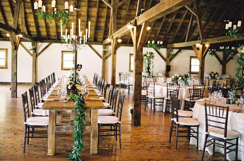 Elegant Vermont Wedding Reception Site