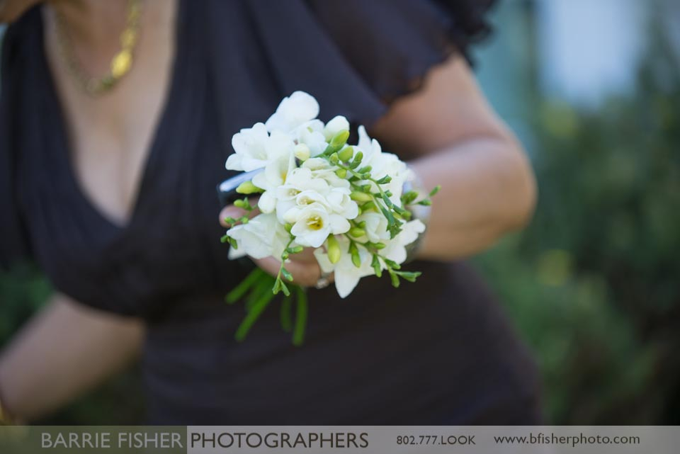 Bouquets for the wedding party