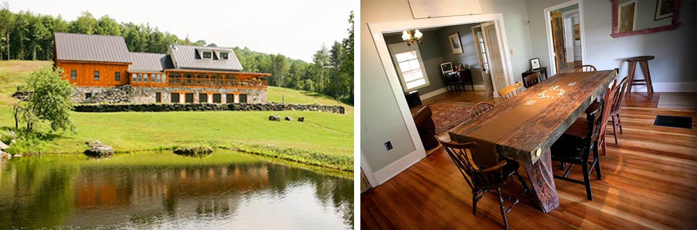 Best Barn for lodging at Riverside Farm