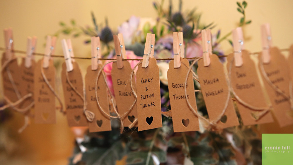 Farm Wedding Venue Detail - Place Cards