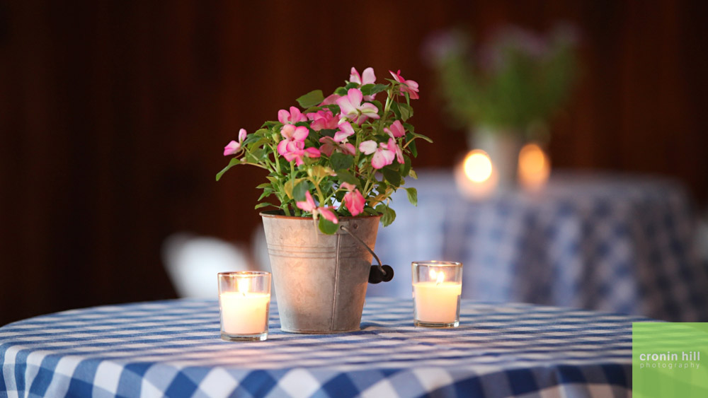 Vermont Wedding Venue Detail - Rustic Table Setting