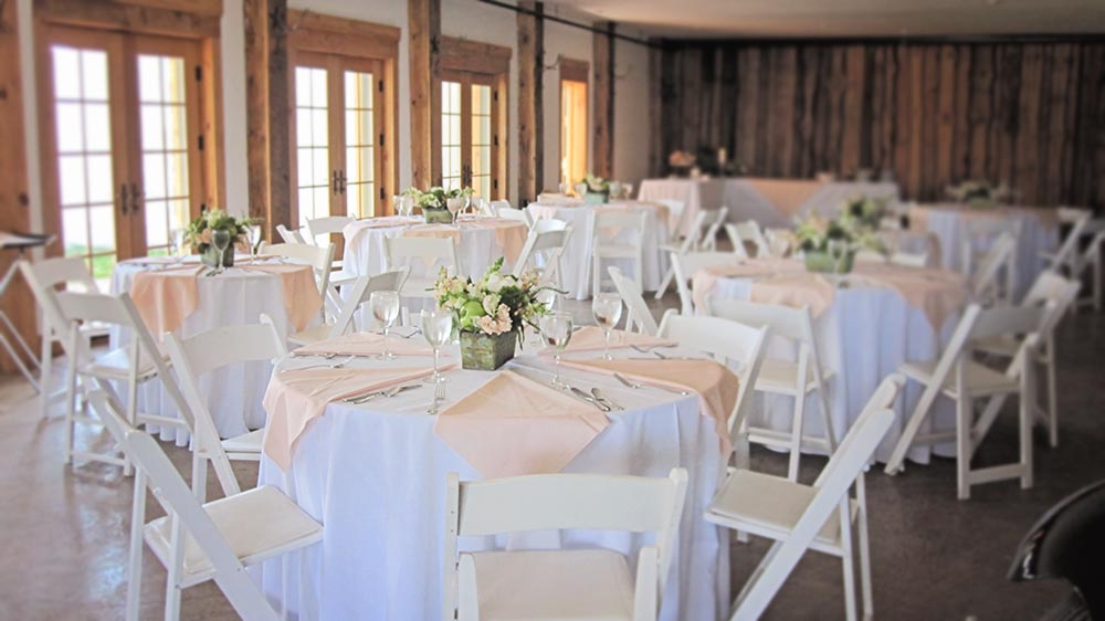 Amee Farm Vermont Wedding Venue - reception dinner
