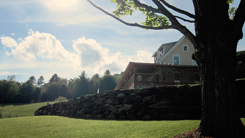 Amee Farm Vermont Wedding Venue - afternoon at the barn