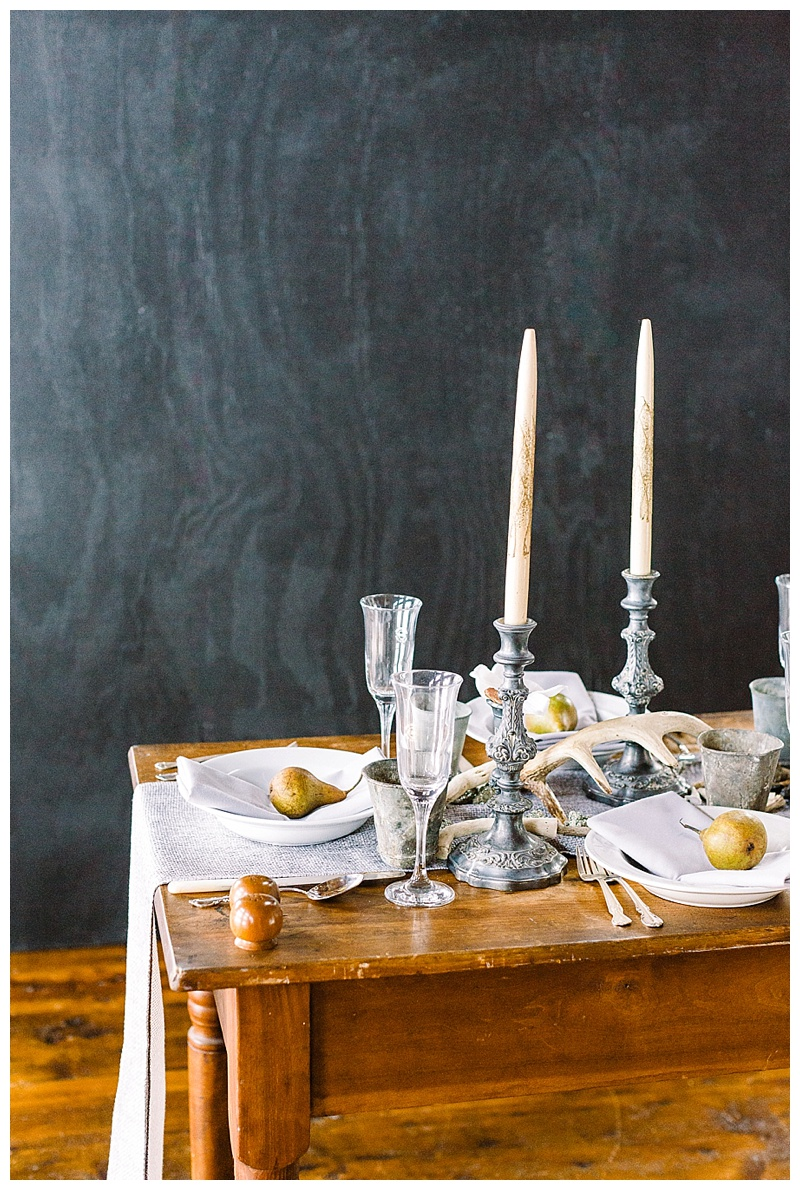 Baroque meets Gothic Table Scape