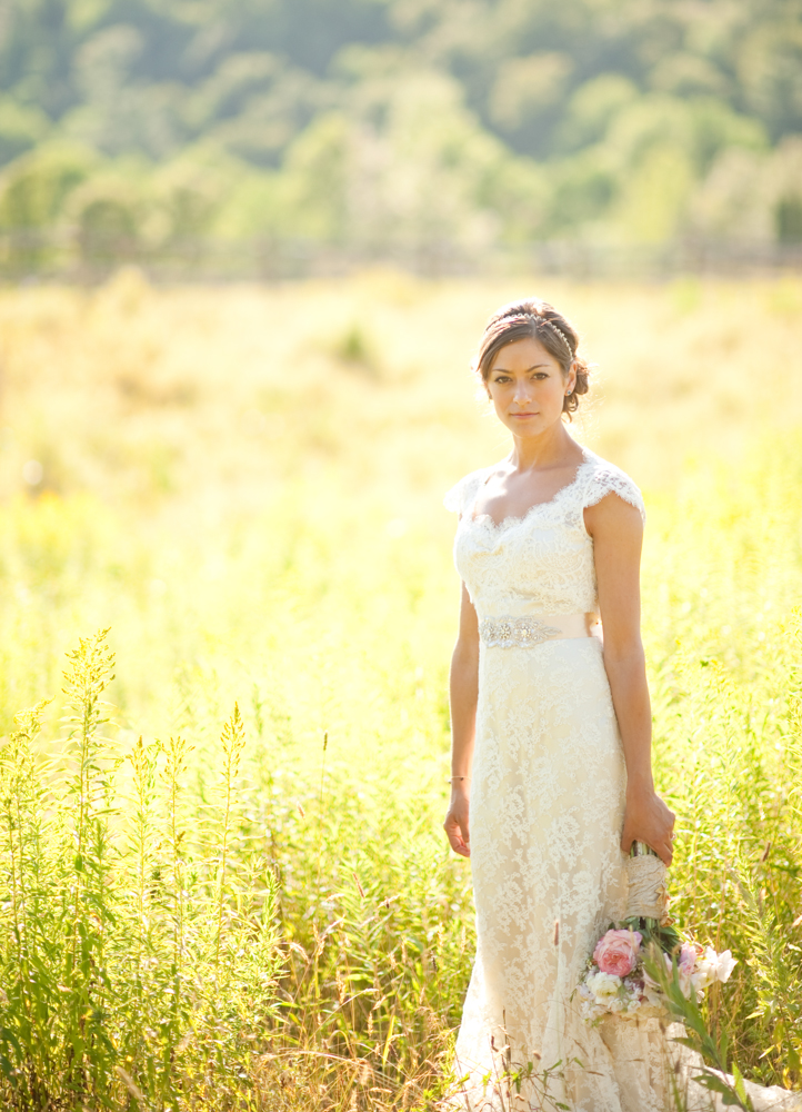 Fall Bride at Riverside Farm by Jenny Moloney