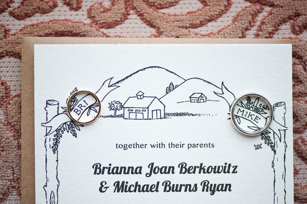 Some Of Our Favorite Riverside Farm Wedding Invitations Vermont