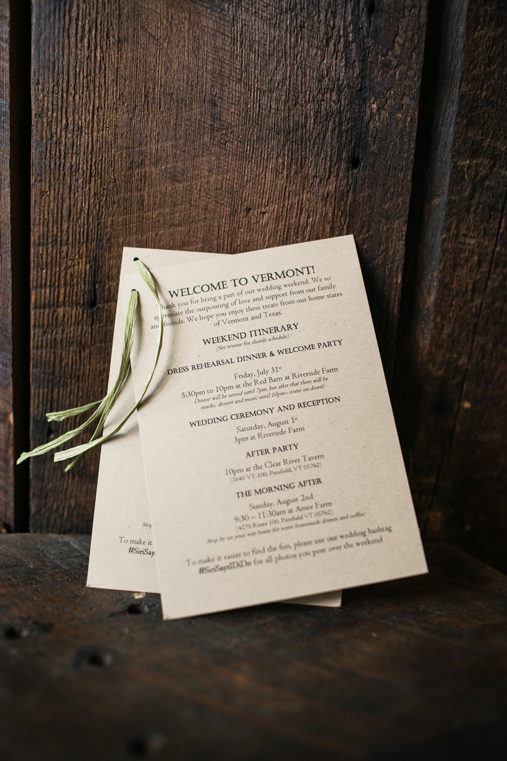 Classic Country Wedding Invitations