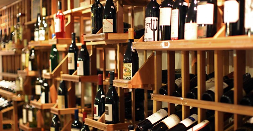 Fully Stocked Wine Cellar