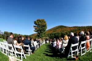 Outdoor New England Wedding