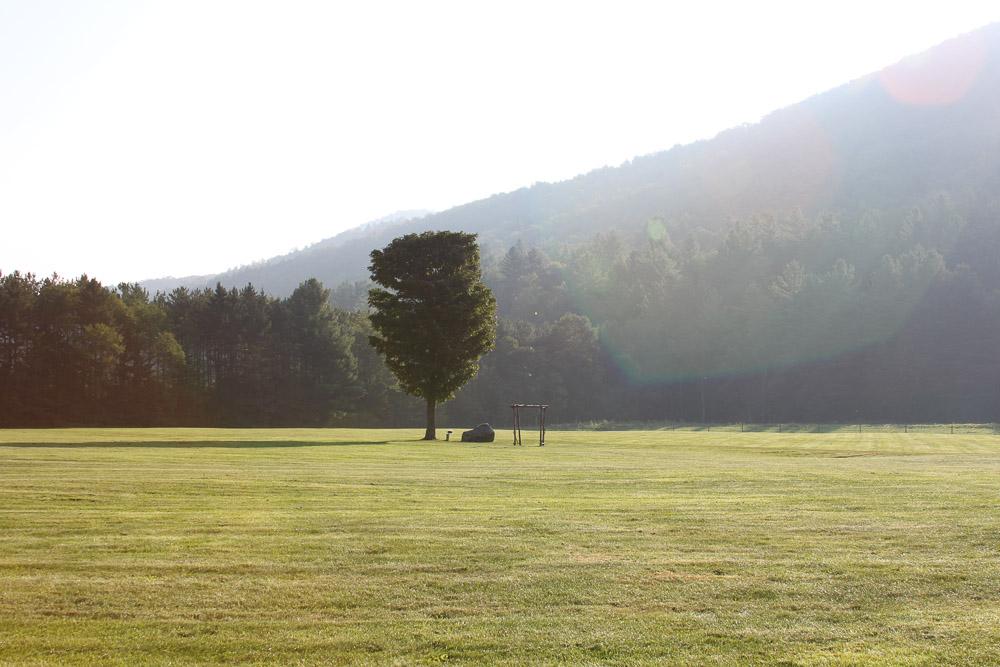 Morning - Riverside Farm Wedding Ceremony Meadow