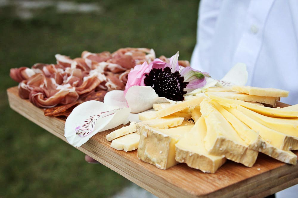 Riverside Farm Vermont Wedding Detail - Cheese plate by Cloud 9