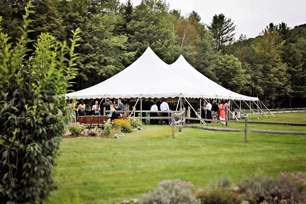 Riverside Farm Vermont Wedding