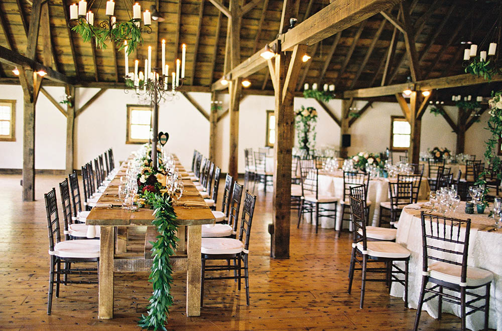 Elegant Vermont Wedding Reception Site