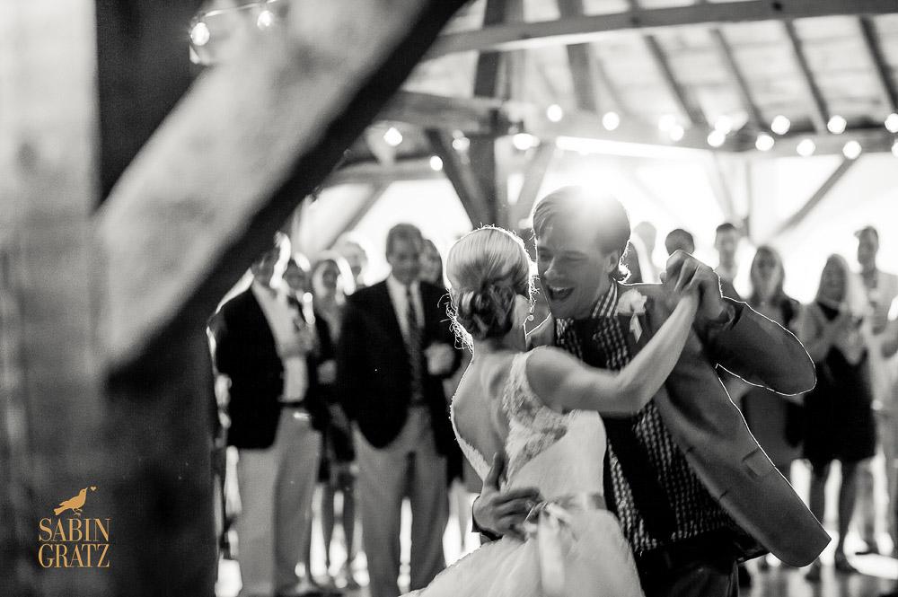 Classic Vermont Wedding Site B+W images