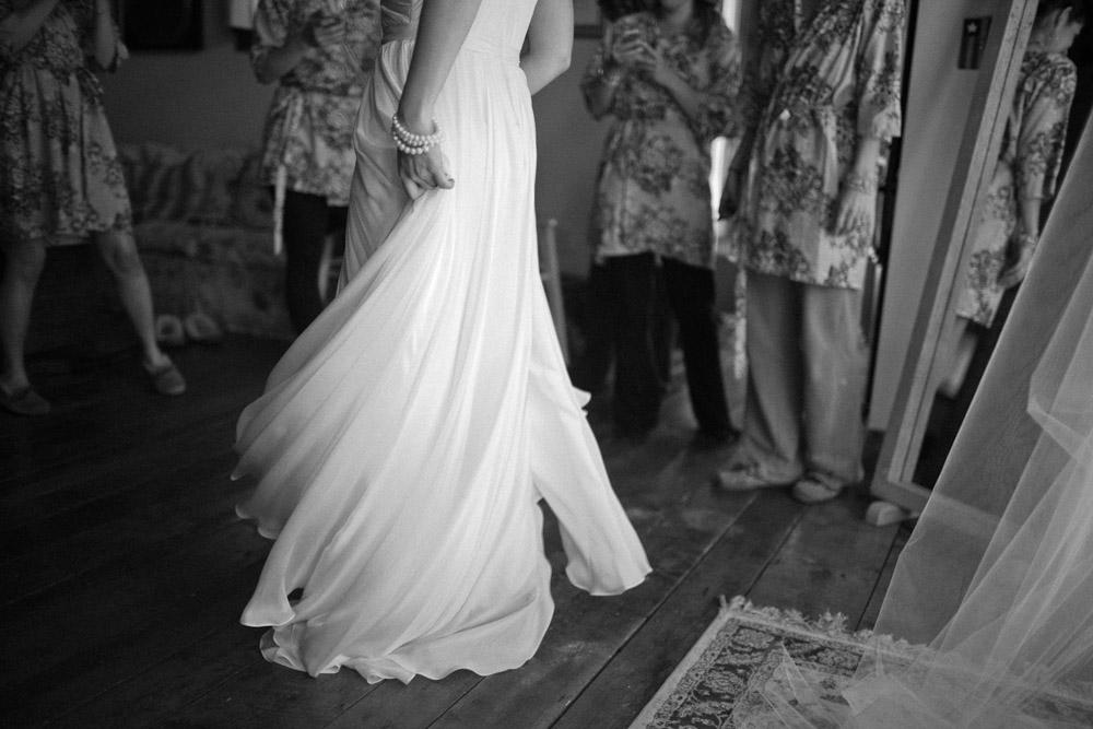 Riverside Farm Vermont Wedding Venue - Bride