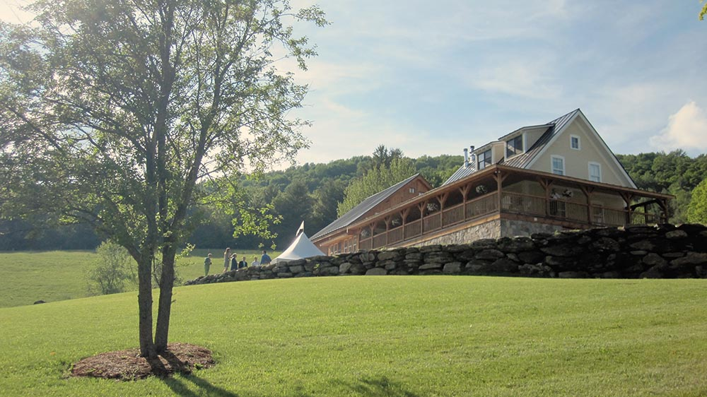 Amee Farm Vermont Wedding Venue - enjoying the grounds