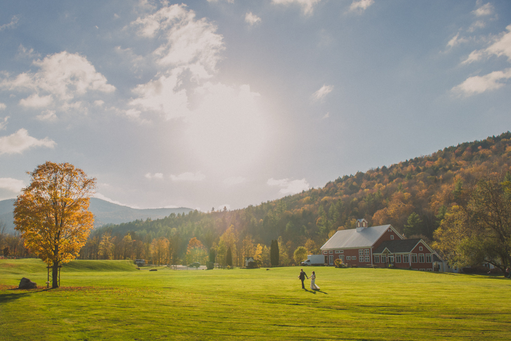 Spectacular Fall Fram Wedding Venue