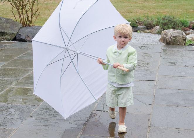 Rainy Vermont Wedding