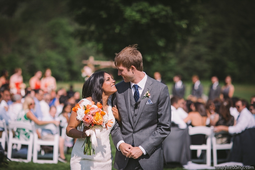 Riverside Farm Vermont Wedding - JL Photography