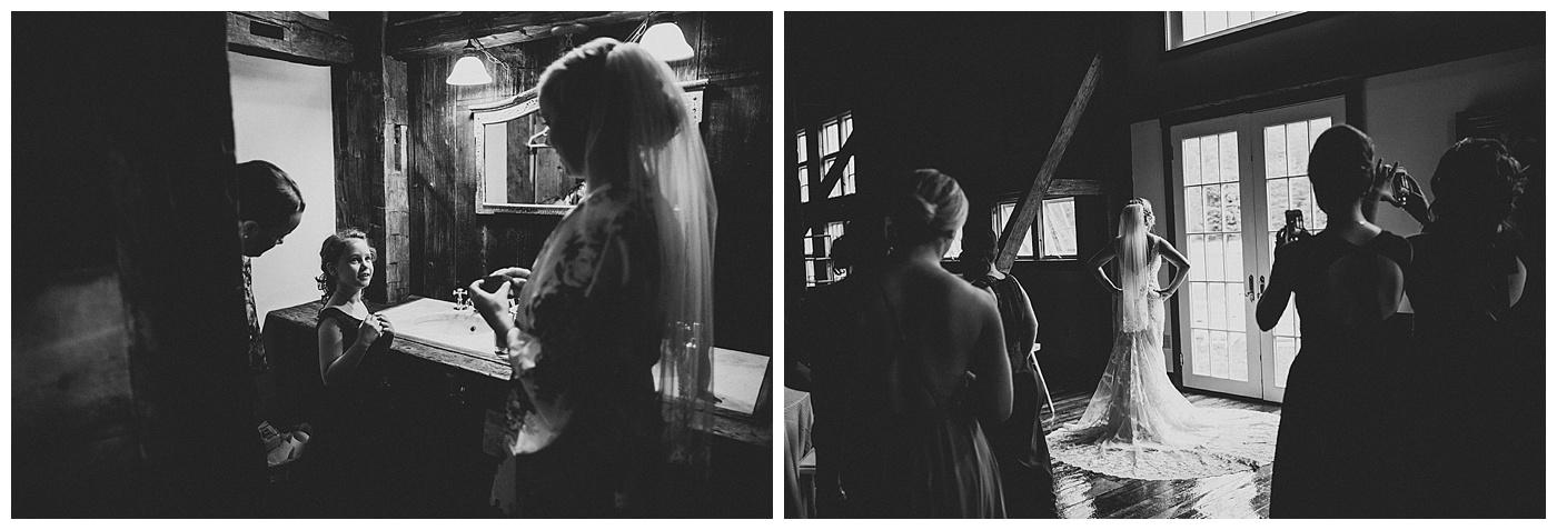 Riverside Farm - Bride Gettting Ready for Her Wedding
