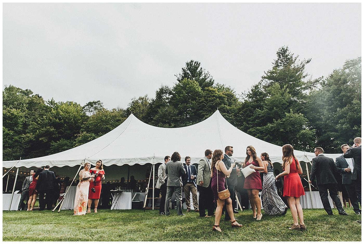 Riverside Farm - Wedding Reception Cocktail Hour