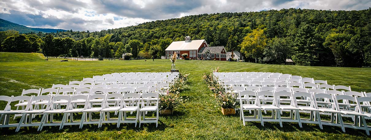 Vermont Summer Outdoor Wedding